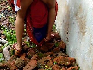 Devar Outdoor Fucking Indian Bhabhi In Abandoned Accommodation billet Ricky Public Sex