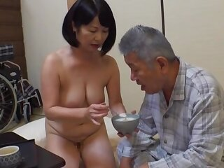 Creampie with an papa be useful to this top-drawer Japanese full-grown